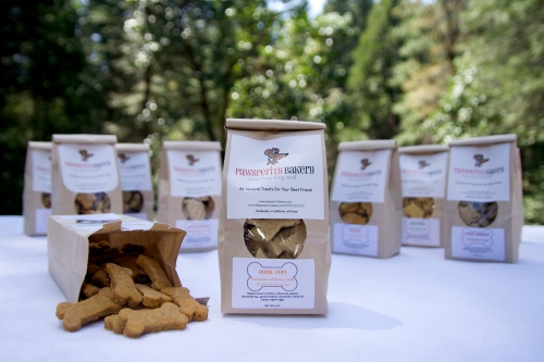 Hush Pups are all natural, homemade dog treats made with chammomile